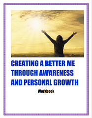 Creating A Better Me Workbook Cover